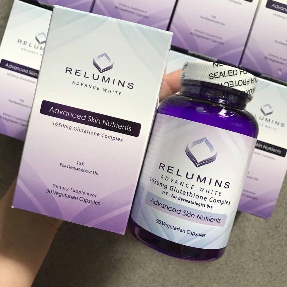 vien-uong-trang-da-relumins-advance-white-1650mg-glutathione-complex
